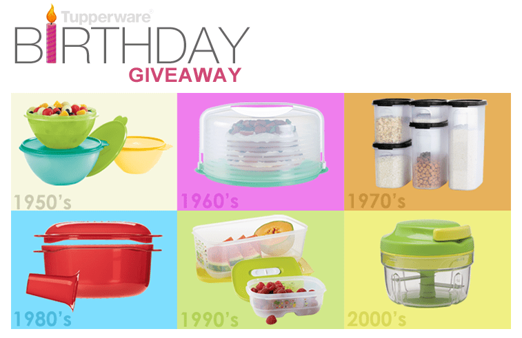 Tupperware 65 Logo Be one of 65 lucky winners to