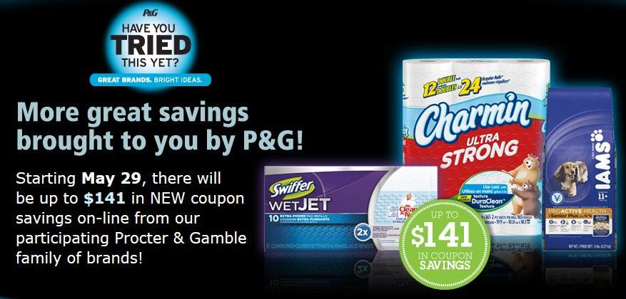 Canadian Coupons ~ New P&G BrandSaver Coupons Coming May 29th | Fru ...