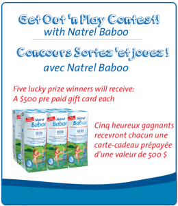 Contest ~Enter to win 1 of 5 PrePaid Visa Cards from Baboo! | Fru-Gals