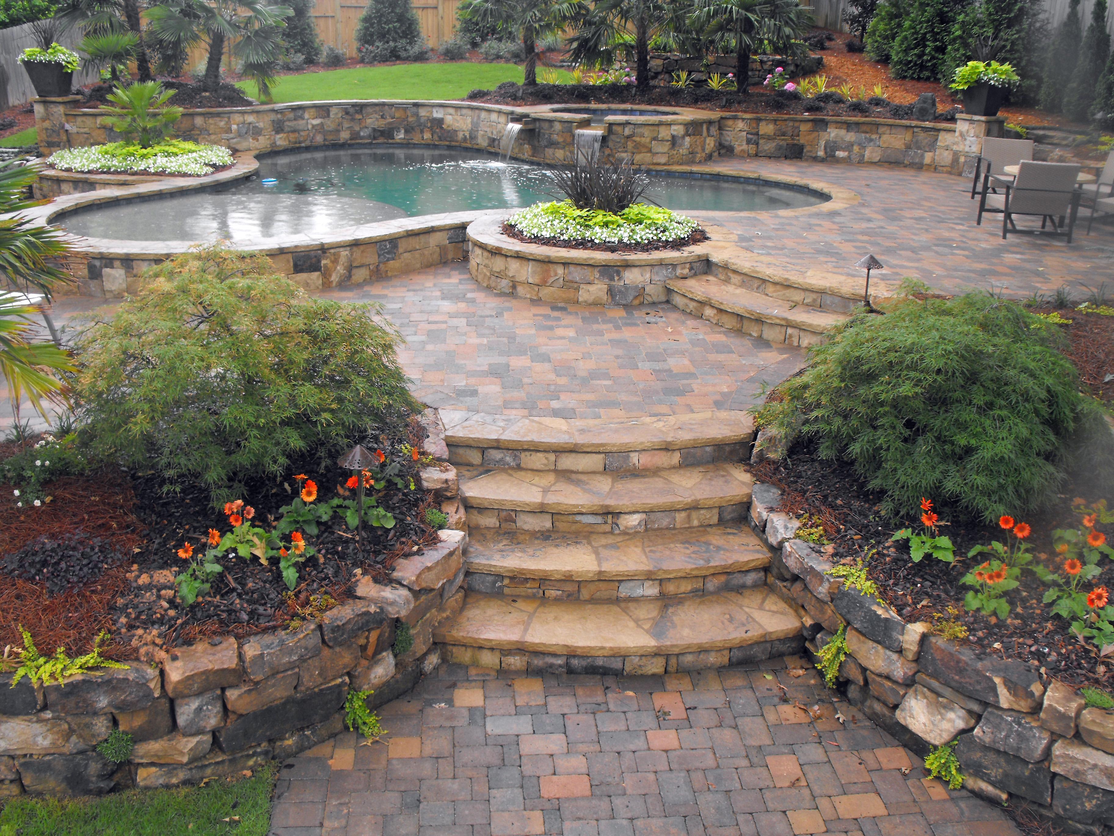 Home Design Backyard Ideas: Backyard-design-ideas-3648×2736-hardscape-sets-the-stage