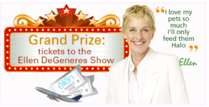 contest enter to win tickets to the ellen degeneres show fru gals. Black Bedroom Furniture Sets. Home Design Ideas